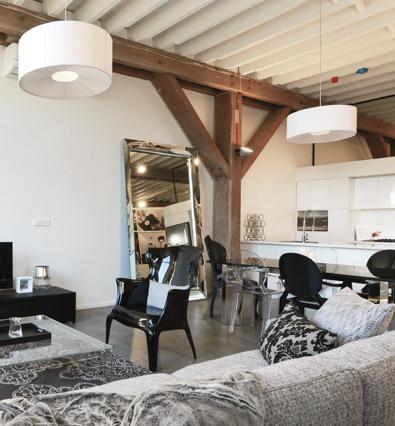 Apartment lounge room