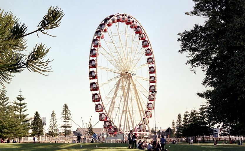 Ferris wheel in Fremantle, Perth Western Australia