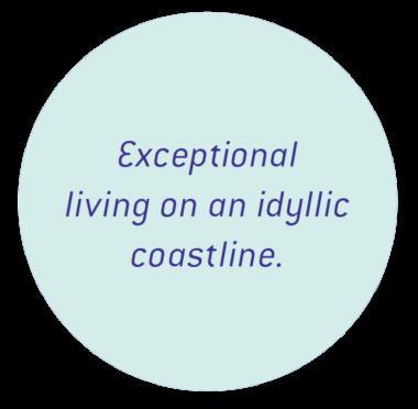 exceptional living on an idyllic coastline